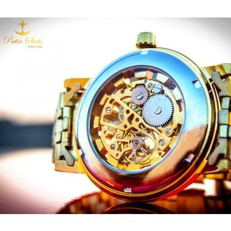 "Patia Stats ""THIRD CORONA"" - Wrist Nerve Sensing Self-Winding Timepiece"