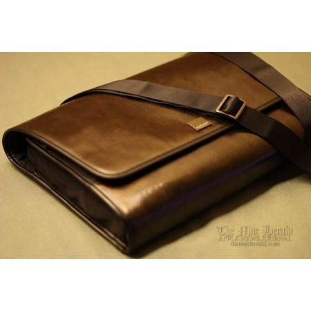 "Acme Made The Clutch for 10""-13"" MacBook Air / Pro / Retina Designer Shoulder Bag - Brown Canvas"