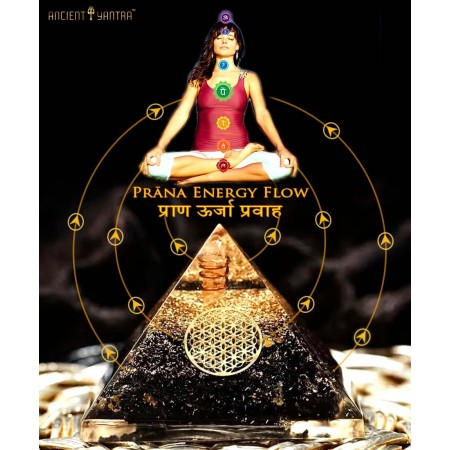 Ancient Yantra - 'TOURMALINE URJA YANTRA' by Dr.Riech for Vaastu Dosh Correction & Wealth Energy Attraction