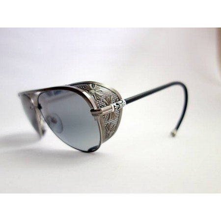f0723fc204f Chrome Hearts Sculpted Aviator Polarised Sunglasses
