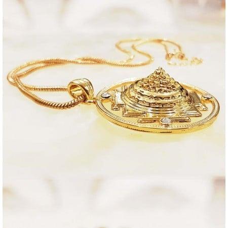Ancient Yantra Sacred Sri Yantra Powerful Necklace