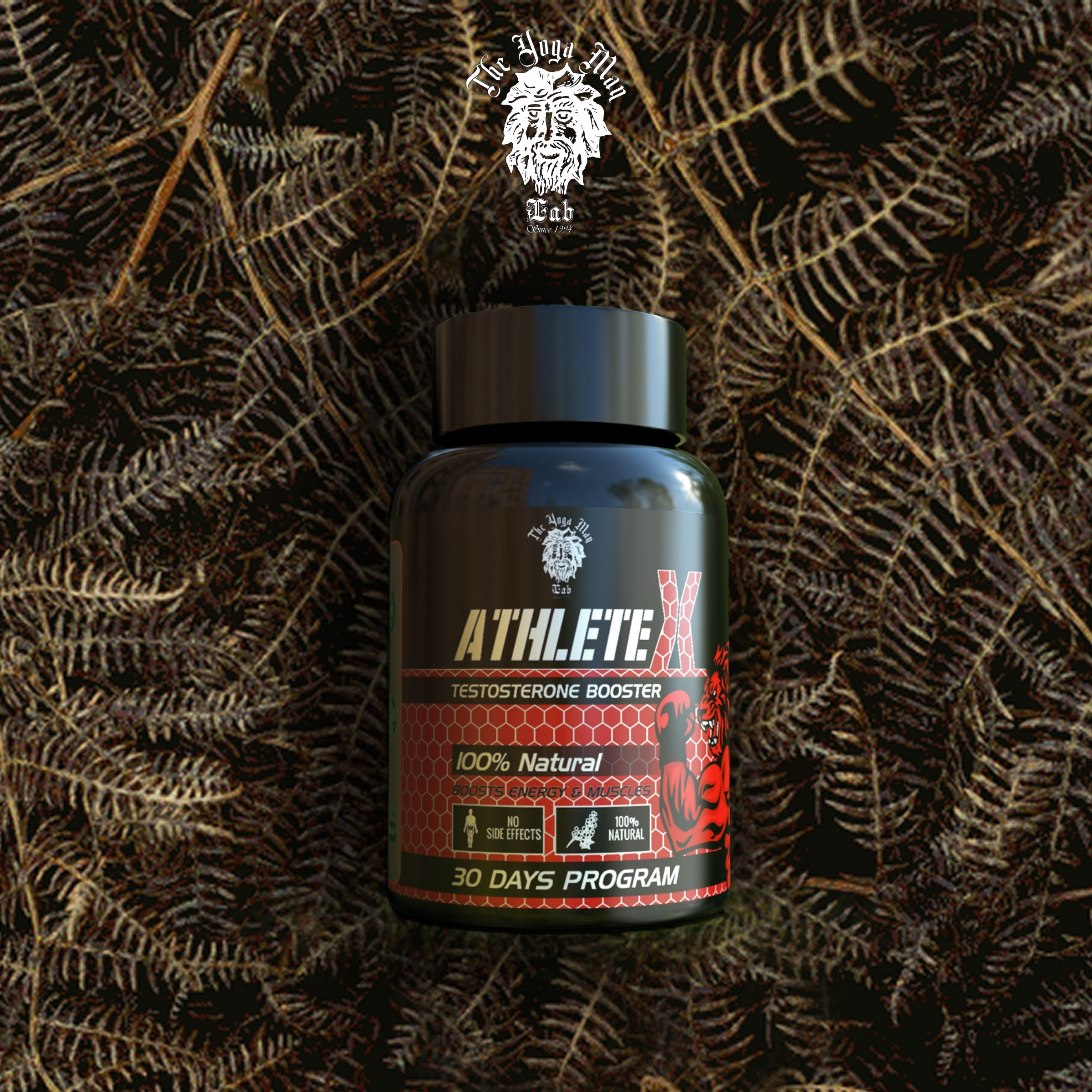 Athlete X - Natural Testosterone Booster for Men for