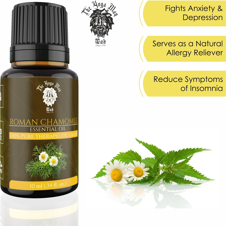 Roman Chamomile Essential Oil (100% PURE & NATURAL
