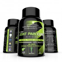 The Yoga Man Lab – Natural Joint Pain Cure 30 Day Capsules - Restores Synovial Fluid & Prevents Arthritis