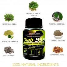 Diab 99.9 Ayurvedic Herbs for Diabetes by Mahashi Ayurveda