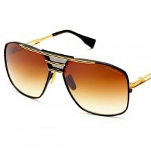 ḋita® Armada King's Crown ™ with Titanium Gold Frame & Copper Tinted Lenses Aviator Eyewear