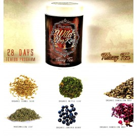 Wild Yog King - THINNY Detox Slimming Energy Tea with Rare Leaf  Buds in 28 Days Program