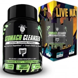 Stomach Cleanser Supplement - Supports Weight Loss Efforts, Digestive Health, Increased Energy Levels, and Complete Body Purification (14 Days Detox Pack | 28 Capsules)