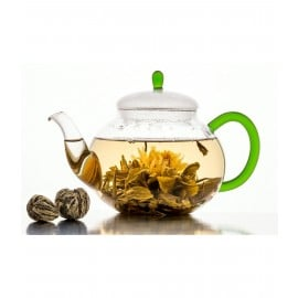 Wild Yog King Hidden Lily Tea Globe - Brain DeTox Tea - with Rare Leaf Buds - 28 Days Program