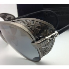 Chrome Hearts Sculpted Aviator Polarised Sunglasses