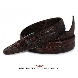 Patia Stats Dragon Head Skin Inspired Leather Belt
