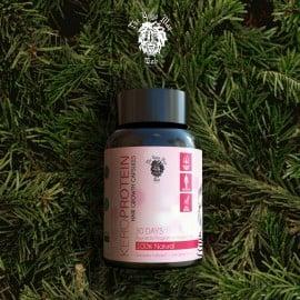 Keroprotein hair Growth Kit For Men - Medicine + Oil + Keroneedle - Proven 100% Natural Ayurvedic Herbal Formula- by The Yoga Man Lab (simple)